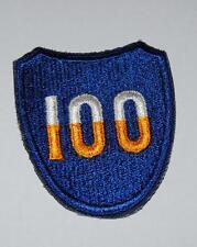 US Aufnäher Patch 100th DIVISION Abzeichen Vietnam Uniform WK2 WW2
