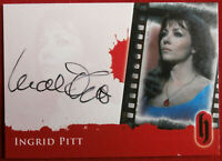 Hammer Horror - INGRID PITT - Autograph Card - BLACK INK VARIANT - A3-S2