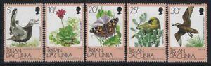 Tristan da Cunha 1986 Flora & Fauna set Sc# 399-403 NH