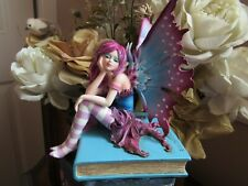 Amy Brown Book Fae Fairy Figurine 2018 Release by Pacific Giftware New In Box