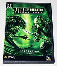 ALIENS VS PREDATOR 2 - PRIMAL HUNT ADD ON EXPANSION PACK - PC DVD - ALIEN VERSUS