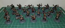 Lord of the rings plastic dwarf warriors, painted figures