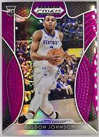 2019-20 Panini Keldon Johnson Silver Purple Prizm Rookie RC San Antonio Spurs 📈
