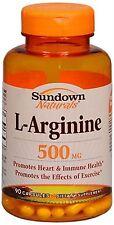 Sundown L-Arginine 500 mg Capsules 90 Capsules
