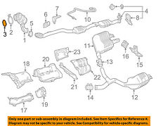 MERCEDES OEM 15-16 C300 2.0L Exhaust System-Catalytic Converter Seal 2741420080