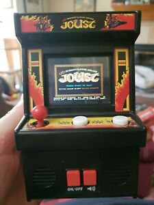 Joust Arcade Classics  Machine Handheld Retro Video Game works perfectly