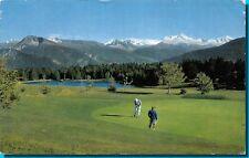 Carte Postale - MONTANA Scene de golf