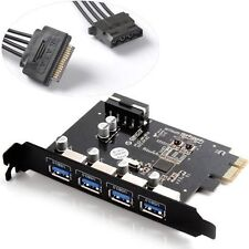ORICO USB3.0 4 Port PCI Express to USB3.0 Host Controller Card with Power Cable