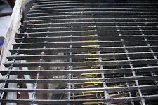 "19-W-4 Space Welded Torch Cut Steel Bar Grating - 24"" x 36"" Black w/Light Rust"