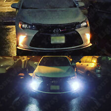 Switchback Front Parking Signal LED + Resistors for 2015 2016 2017 2018 Camry