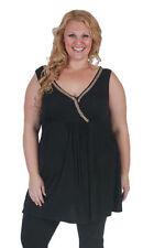 Sleeveless V-Neckline Tops & Blouses for Women