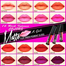 LA Girl Matte Lip Gloss Lipstick flat Pigment 16 Color Full Set Rich & Long Last