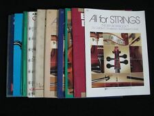 Lot of 12 Music Books/Instruction Manuals, Viola, Guitar, Sax Alternative Rock