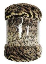 Mink Fur Throw Jungle Skin 200 X 240cm
