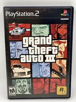 Grand Theft Auto III GTA 3 Sony PlayStation 2 2003 PS2 Black Label Complete