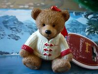 HARRODS 2016 CHRISTMAS RESIN BEAR NEW LABELLED SOLD OUT