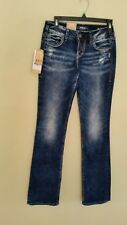 "Size waist 25"" X 33"" Length By Suki Mid Slim Boot"