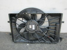 nn70990 Mercedes C320 C280 2005 2006 2007 Radiator Cooling Fan Motor & Shroud