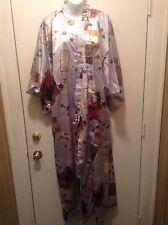Authentic Ichiban  Japanese Kimono Unisex Robe With Belt Sz Large Free Shipping