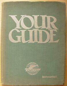 1960 Rare Huge Soviet Your guide 12 language phrase-book Intourist Russian Arab