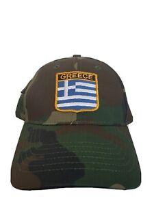 Griechenland Basecap Militär Military look Mütze New Neu Greece Hellas  Fanshop