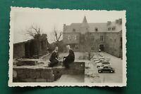 1x Foto VW Käfer und andere Auto Oldtimer Classic Cars 1950-1960er Burg