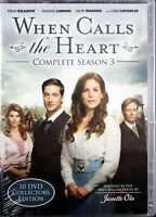 When Calls The Heart Complete Season 3 - Brand NEW 10 DVDs Collector's Edition