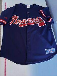 Majestic MLB Atlanta Braves Jersey Customizable