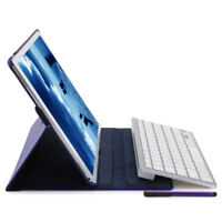 Rotating Leather Wireless Bluetooth Keyboard Smart Case Cover for iPad Pro 12.9&