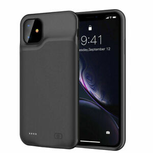 For iPhone 12 mini 12Pro Max Portable Power Bank Pack Battery Charger Case Cover