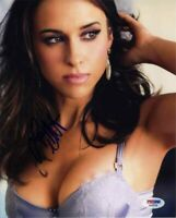 Lacey Chabert Cleavage Autographed Signed 8x10 Photo Authentic PSA/DNA COA