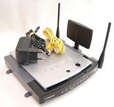 MÓDEM ► LINKSYS WRT300N v2.0 router averiado inalambrico LAN internet antena de