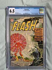 Flash #110 CGC 6.5 1959 1st Wally West (Kid Flash) & Weather Wizard