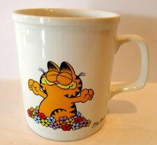 Garfield Cat Coffee Mug Call Me Morning Glory  1981 Jim Davis Vintage