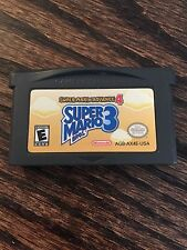 Super Mario Advance 4: Super Mario Bros. 3 (Nintendo Game Boy Advance, 2003) GBA
