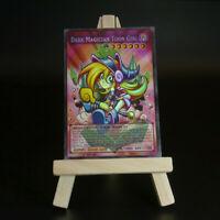 Yugioh ORICA: Dark Magician Toon Girl (Holo) | Full-Art Custom Card Magier