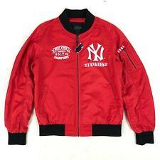 New York Yankees MLB Women Full-Zip 1903 Varsity Jacket NWT
