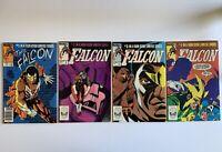 The Falcon 1 2 3 4 Lot Marvel Comics 1983 1984