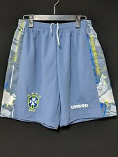 1996 Brazil GK Football Shorts Soccer UMBRO L*Excellent Condition*