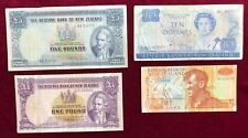 New Zealand 1,5 Pounds, 5,10 Dollars 1940-99 Fine to Very Fine