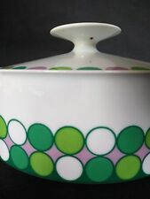 Thomas Germany Rosenthal serving dish casserole tureen v rare Mosaic pattern