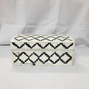 Made to Order Real Bone Inlay Designer Luxury Jewellery Box Gift storage
