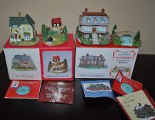 Liberty Falls Village Collection Set of 4 1996-(Ah204 Ah125) 2000-(Ah204 Ah226)