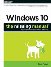 Windows 10: the Missing Manual by David Pogue