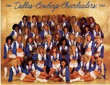 DALLAS COWBOY CHEERLEADERS PHOTOGRAPH 1991-1992