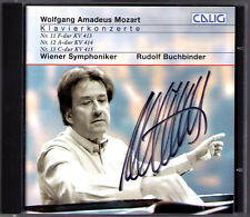 Rudolf BUCHBINDER Signiert MOZART Piano Concerto No.11 12 13 CD Klavierkonzerte
