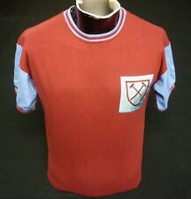 West Ham United Football Shirt Home 1963/66 Moore #6 Replica by Scoredraw Size S
