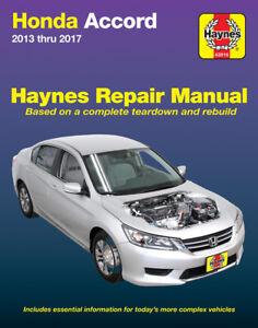 Honda Accord (13-17) Haynes Repair Manual