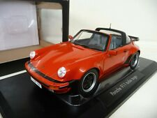 1:18 NOREV PORSCHE 911 Turbo Targa 3.3 rot red NEU NEW