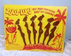 Retro Bar Accessories Zulu-Lulu Swizzle Sticks Mancave Vintage Cocktail
